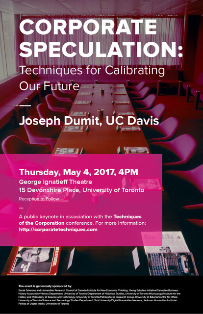 Member and public invite techniques of the corporation conference please join us for the techniques of the corporation conference keynote by professor joseph dumit uc davis anthropology on thursday may 4 2017 from 4 6 stopboris Images